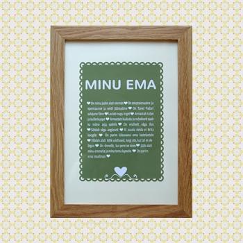 """""""Meie EMA"""" personaliseeritud pilt"""