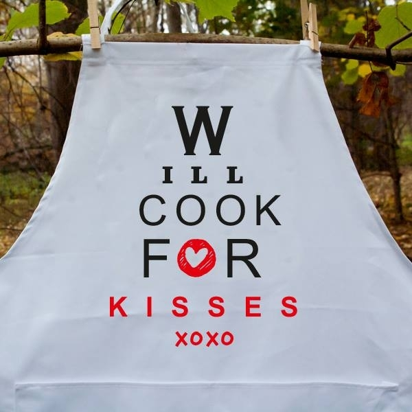 "Põll ""Will cook for kisses"""